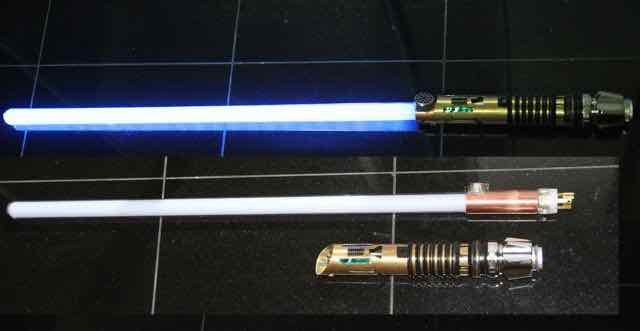 detacheable light saber